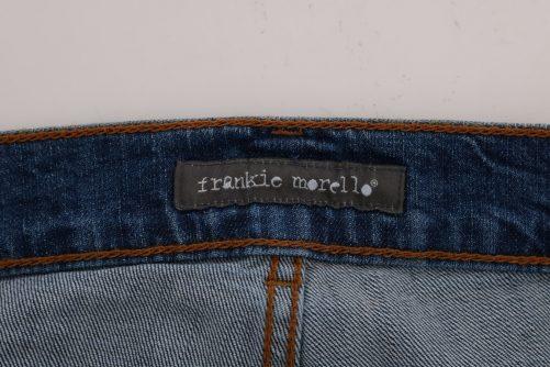 Blue Wash Torn Dundee Slim Fit Jeans, Fashion Brands Outlet