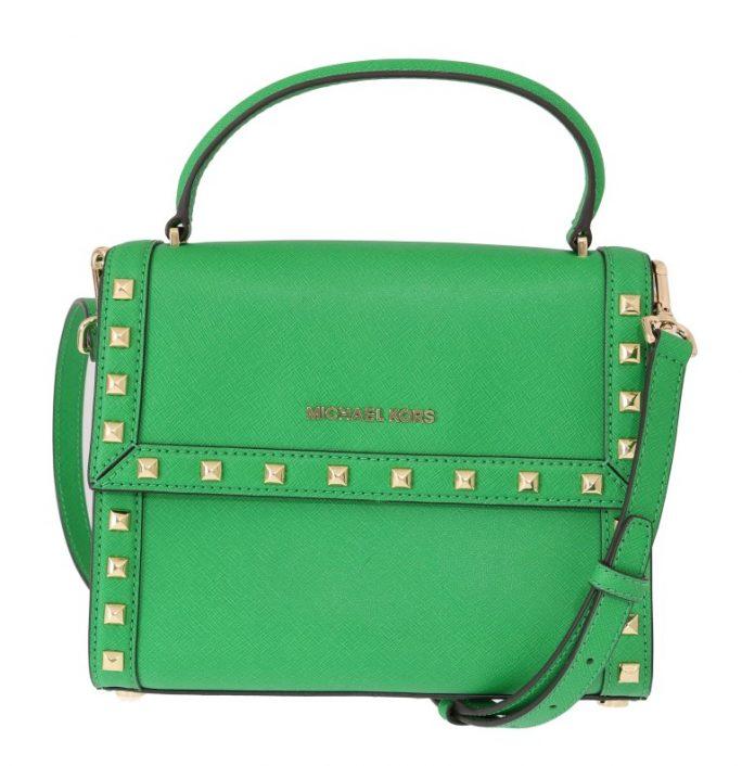 592c4c10b6e89d Green DILLON Studded Leather Messenger Bag. $ 401.61 $ 319.28 Michael Kors  Handbags