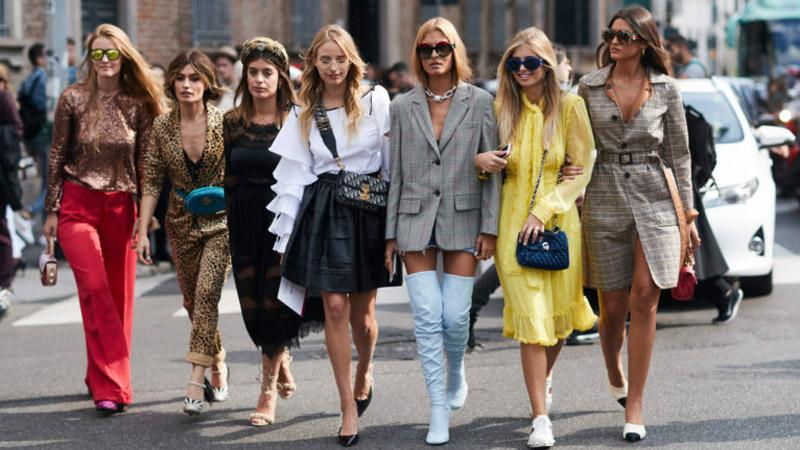 Street style appearances for 2019