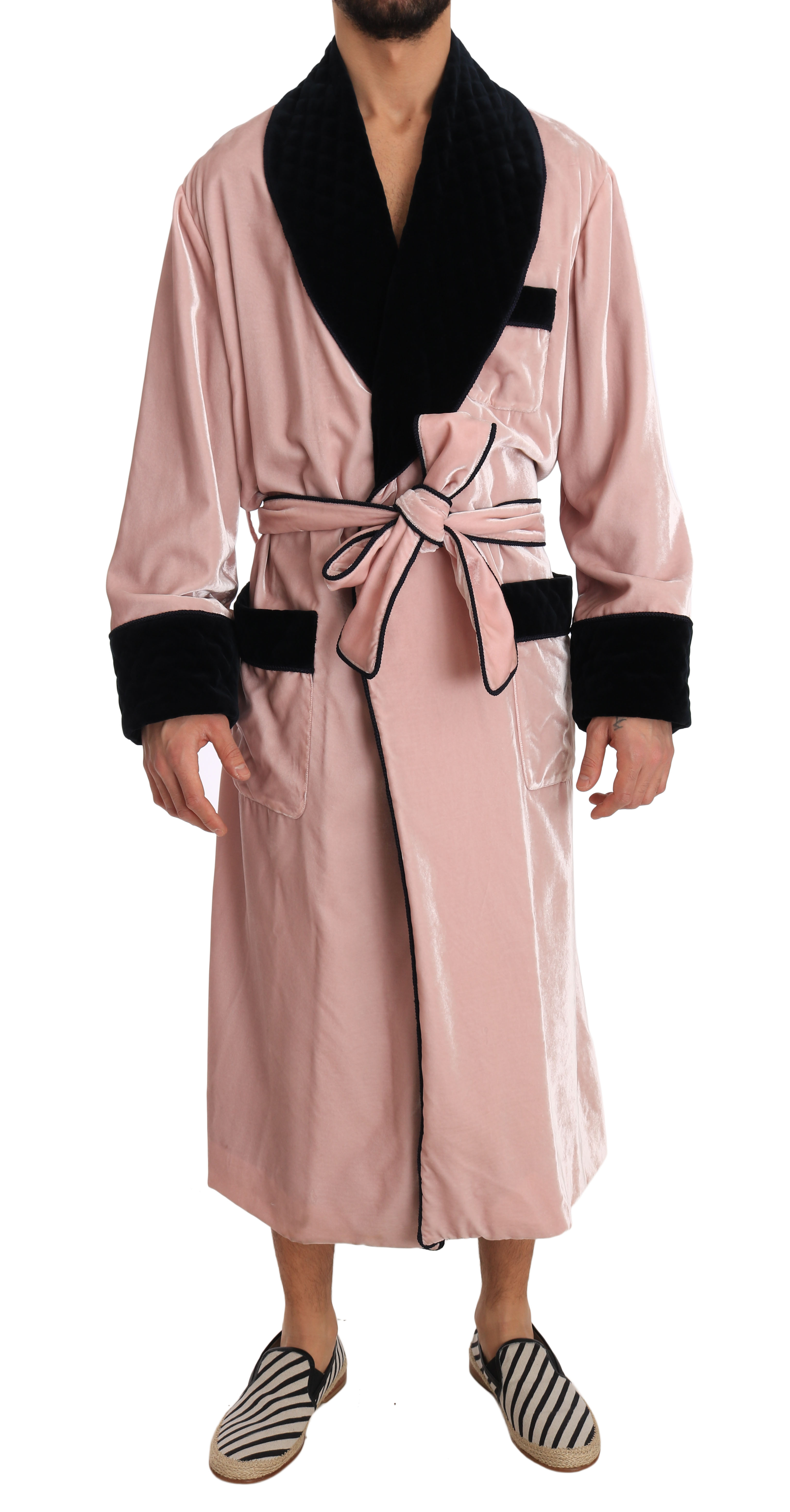 half off hot product shop for newest SILK Robe Nightgown Pink Velvet Black