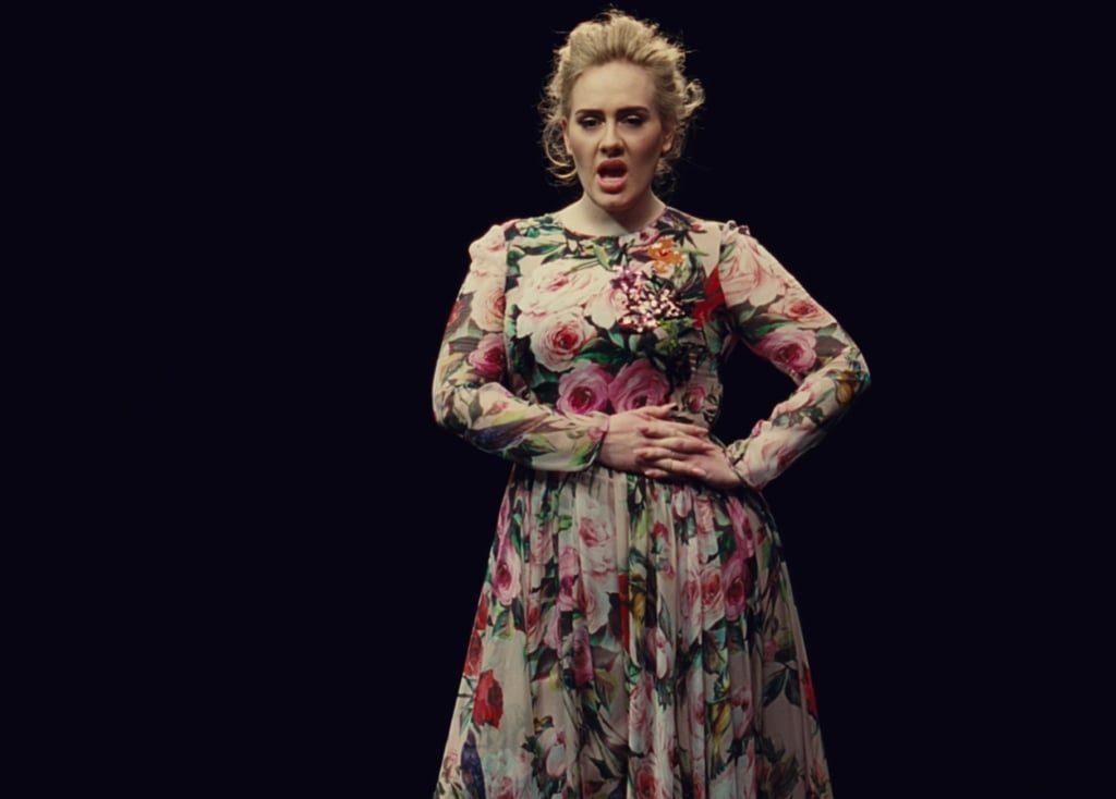 Adele worn D&G | Brandsvice