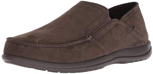 Crocs Men's Santa Cruz Convertible Leather Slip-On Loafer