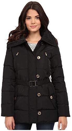 Michael Kors Fur Trim Hooded Down Coat