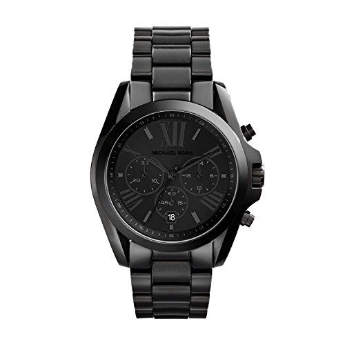 Michael Kors Men's Bradshaw Blacktone Chronograph Watch