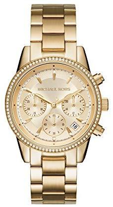 Michael Kors Women's 37mm Ritz Chronograph Watch