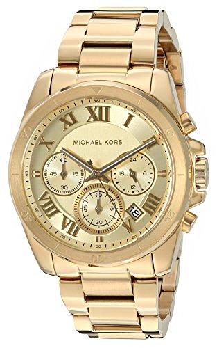 Michael Kors Women's Brecken Gold-Tone Watch MK6366