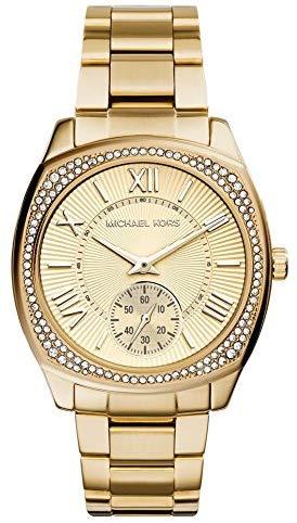 Michael Kors Women's Bryn Gold-Tone Watch MK6134