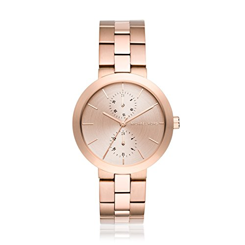Michael Kors Women's Garner Rose Goldtone Multifunction Watch