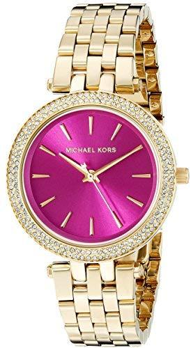 Michael Kors Women's Goldtone Mini Darci Watch