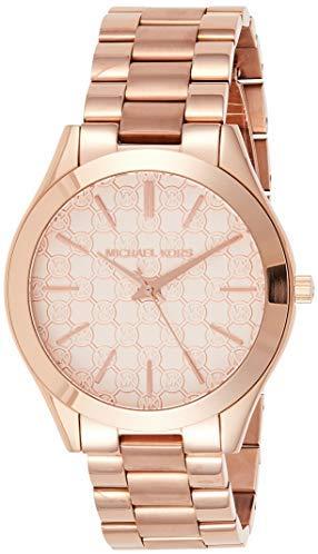 Michael Kors Women's'Runway' Quartz Stainless Steel Watch, Color:Rose Gold-Toned (Model: MK3336)