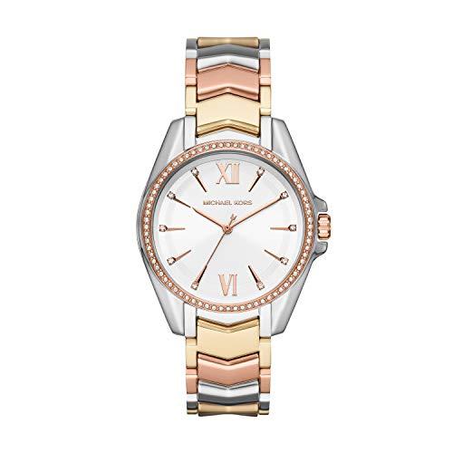 Michael Kors Women's Whitney Three-Hand Stainless Steel Watch