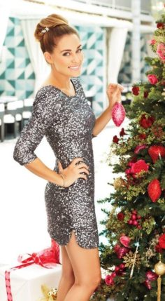 Sparkle with sequins dress for Christmas 2019