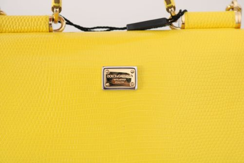 632100 Yellow Sicily Von Crystal Embellished Leather Purse 1.jpg