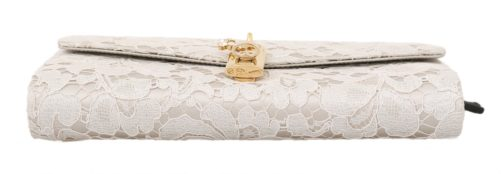632110 White Pizzo Taormina Lace Crystal Padlock Clutch Bag 1.jpg