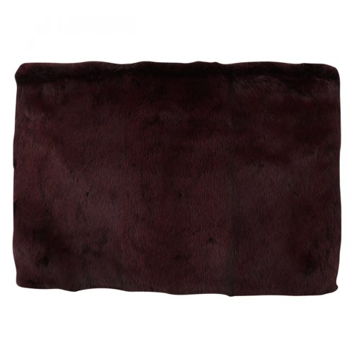 632220 Bordeaux Leather Mink Fur Clutch Handbag 3.jpg