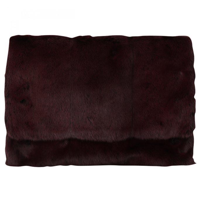 632220 Bordeaux Leather Mink Fur Clutch Handbag.jpg