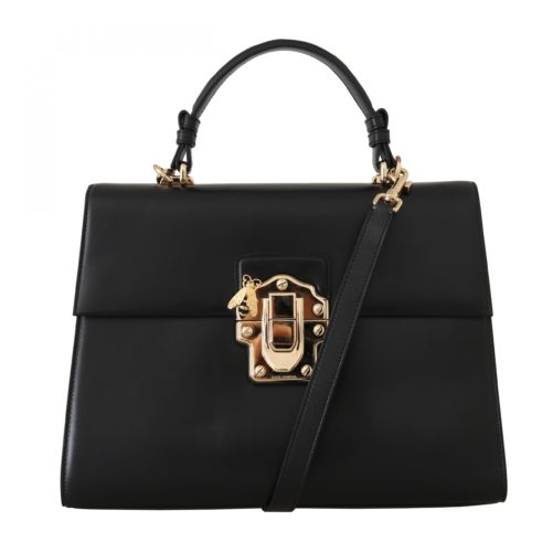 632294 Black Leather Lucia Hand Shoulder Bag.jpg