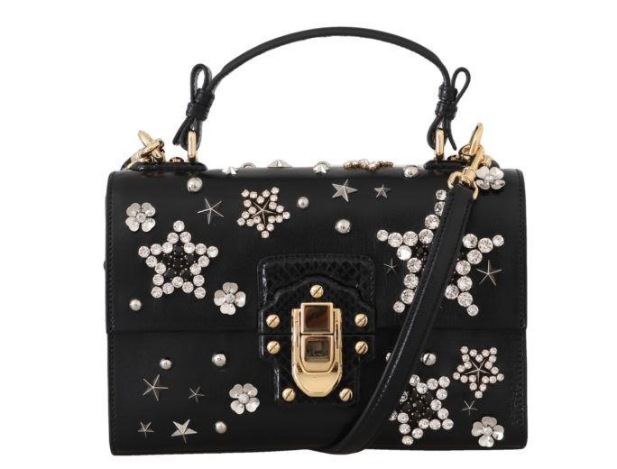 632339 Black Leather Star Crystal Shoulder Lucia Purse.jpg
