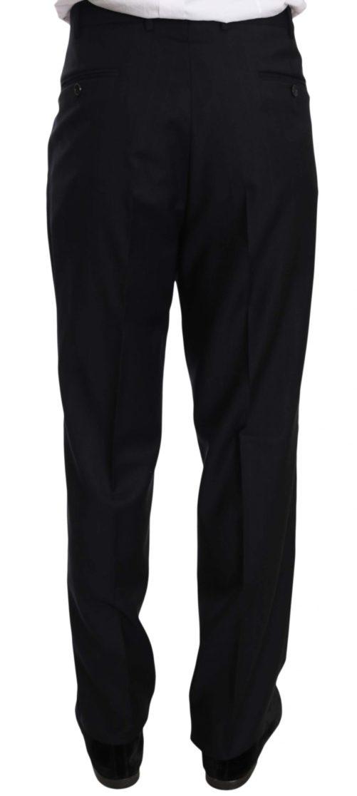 631371 Black Stripe Two Piece 3 Button Wool Suit 4 3.jpg
