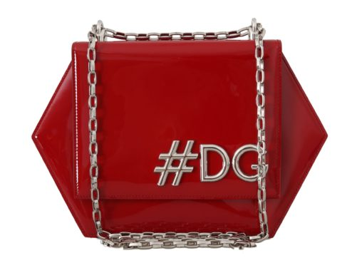 632153 Red Patent Leather Shoulder Dg Clutch Bag 1.jpg