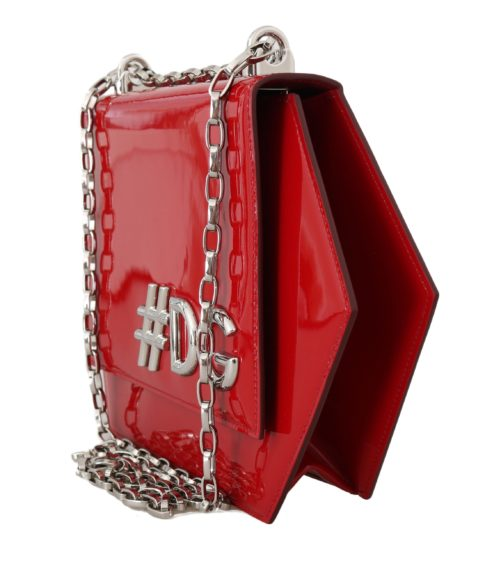 632153 Red Patent Leather Shoulder Dg Clutch Bag 2.jpg