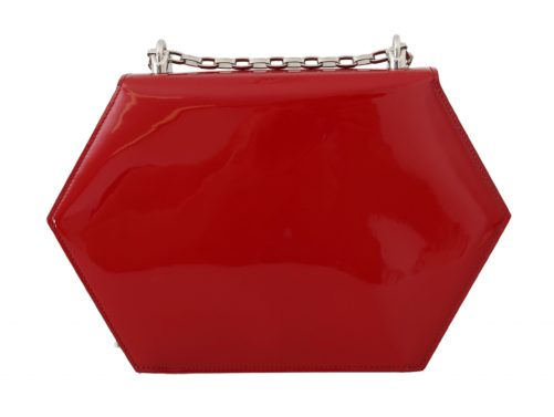 632153 Red Patent Leather Shoulder Dg Clutch Bag 3.jpg