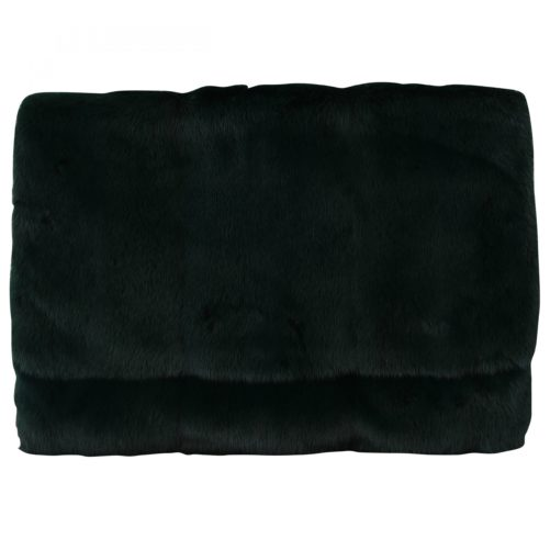 632231 Green Leather Mink Fur Clutch Handbag.jpg
