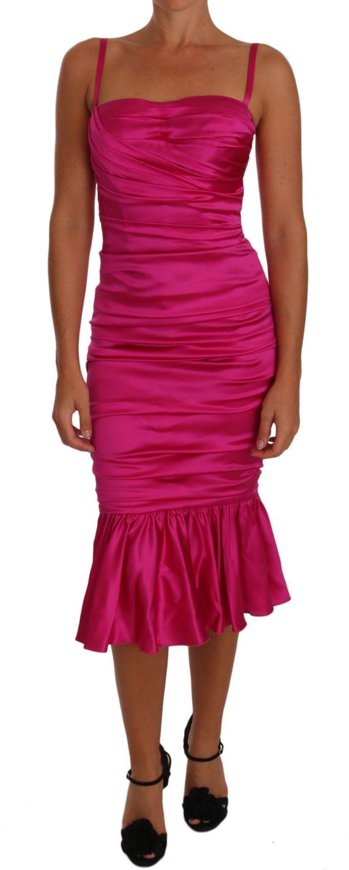 635578 Pink Corset Mermaid Bustier Ruched Dress.jpg