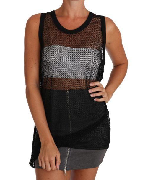 643622 Black Mesh Transparent Blouse T Shirt.jpg