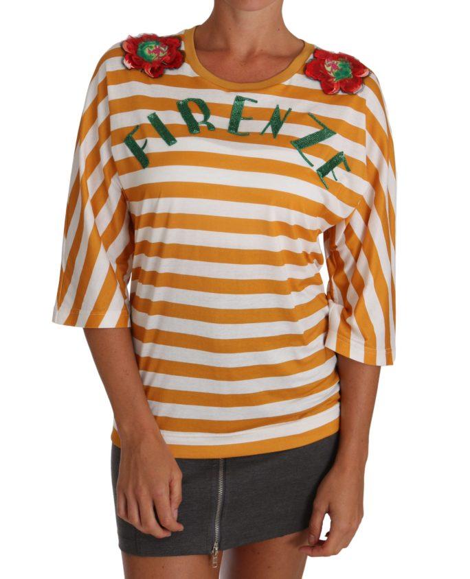 643681 White Orange Firenze Top T Shirt 9.jpg