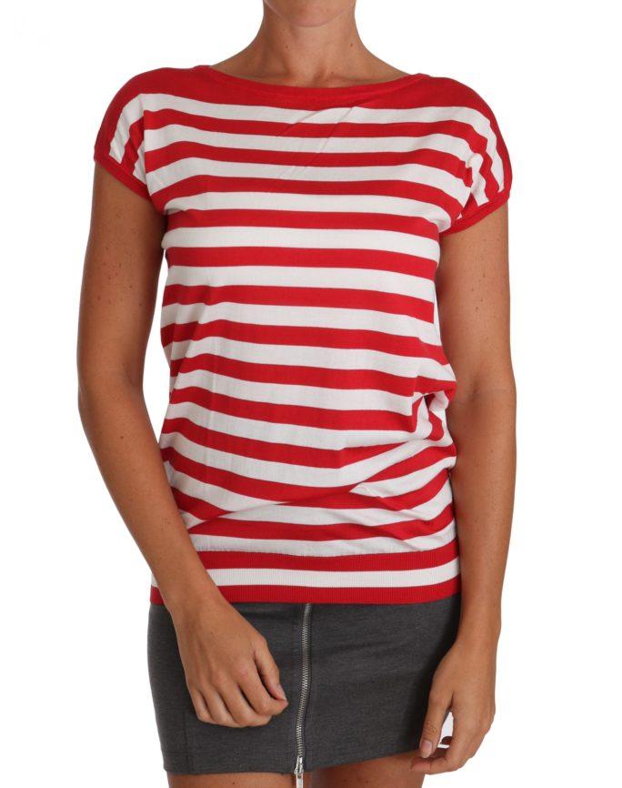 643727 Silk Red White Striped T Shirt.jpg