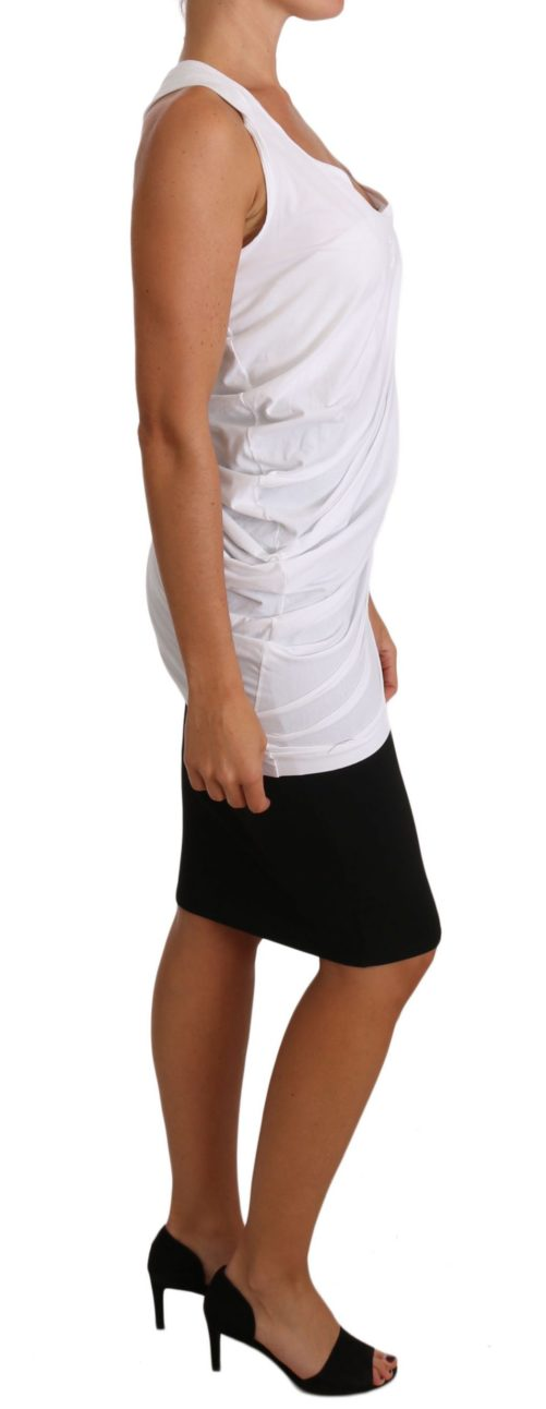 644400 White Top Tank Cavalli T Shirt Jersey 4 1.jpg