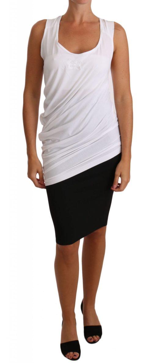 644400 White Top Tank Cavalli T Shirt Jersey 8.jpg