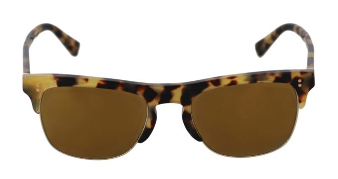 648156 Brown Dg4305 F Leopard Pattern Gold Sunglasses.jpg