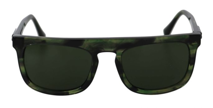 648168 Green Rectangle Dg4288 Black Pattern Logo Sunglasses.jpg