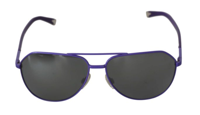 648196 Purple Aviator Dg2094 Pilot Gray Lenses Sunglasses.jpg