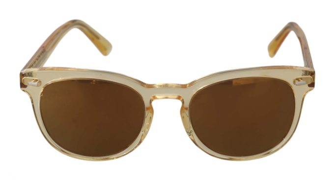 648233 Gold Yellow Oval Dg4254 Mirrored Lenses Sunglasses.jpg