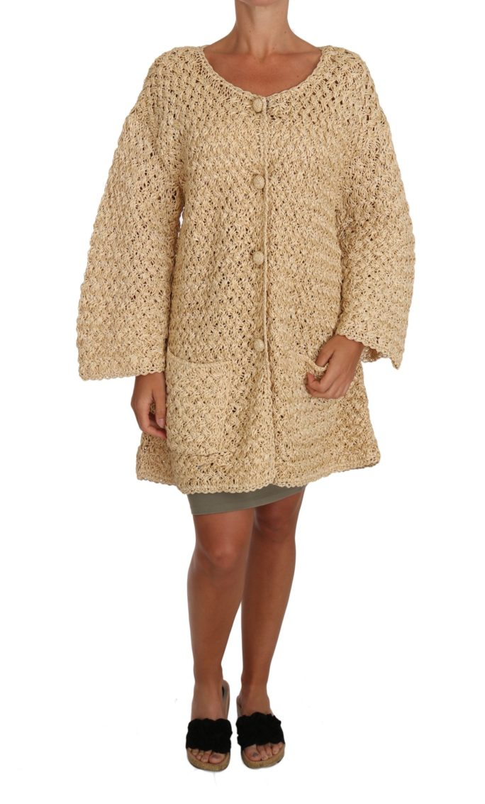648741 Beige Cardigan Crochet Knitted Raffia Sweater.jpg
