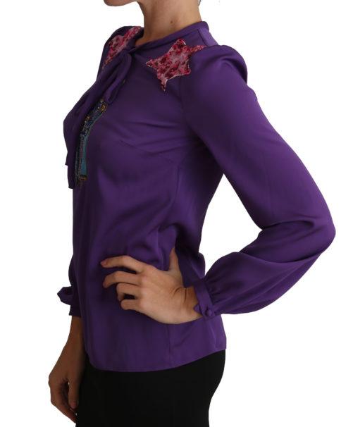 648921 Purple Blouse Prince Fairy Tale Embellished Top 3.jpg