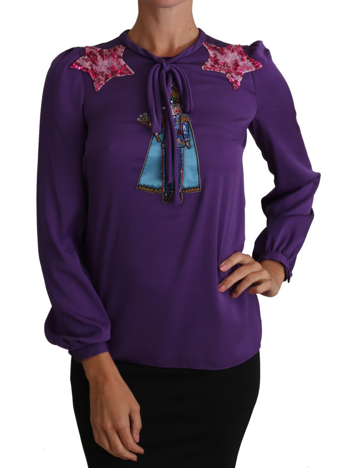 648921 Purple Blouse Prince Fairy Tale Embellished Top.jpg