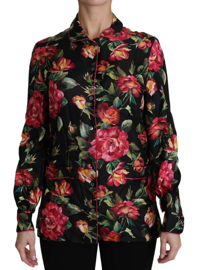 652484 Black Rose Longsleeve Silk Floral Print Top 9.jpg