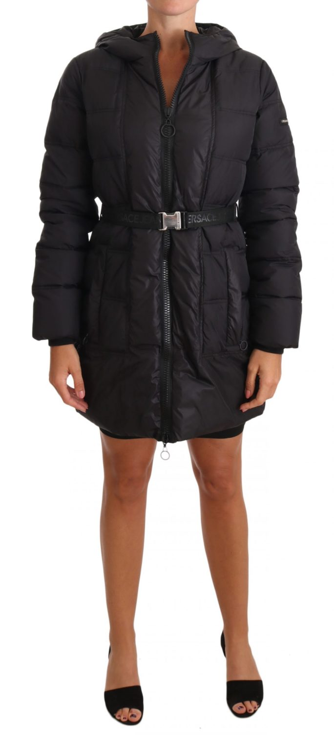 654580 Black Down Hooded Puffer Parka Jacket.jpg
