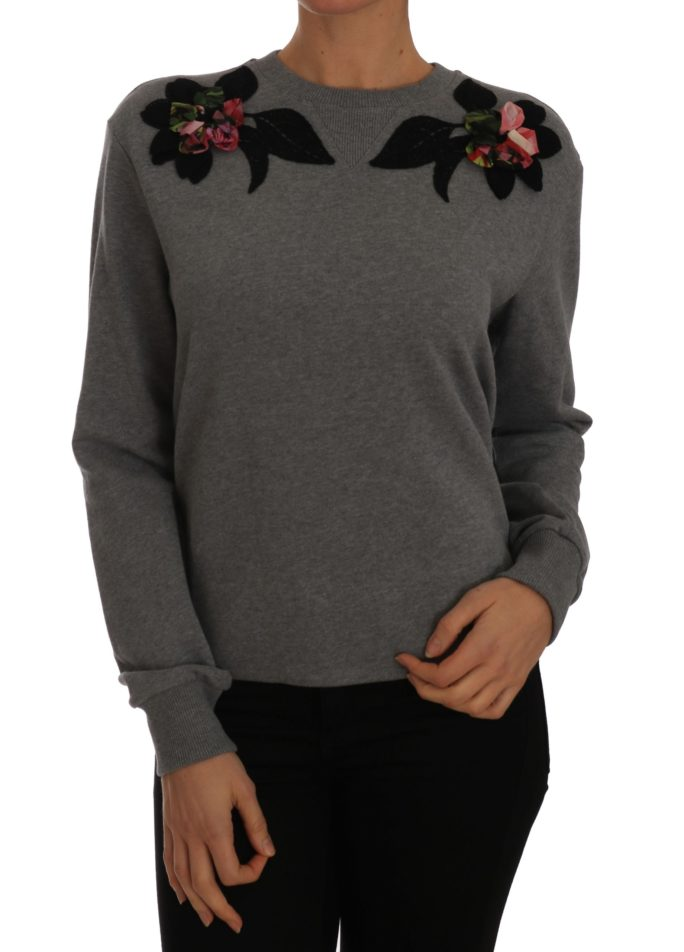 655897 Gray Cashmere Pullover Floral Sweater.jpg