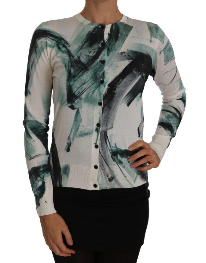 656169 White Silk Cardigan Lightweight Paint Stroke Sweater.jpg