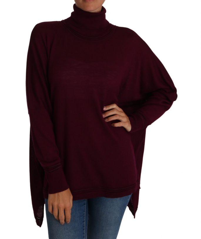 656246 Purple Jumper Turtleneck Polo Sweater.jpg