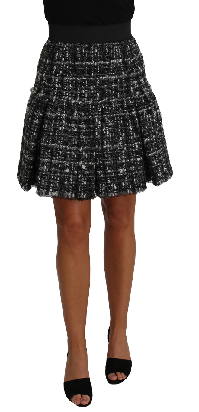 657153 A Line Pleated Pattern Checkered Wool Skirt.jpg
