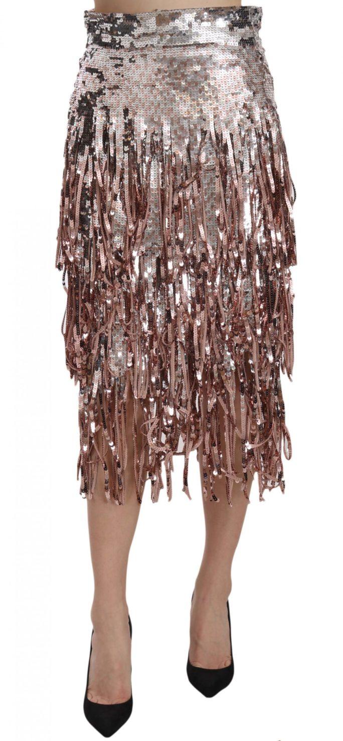 657767 Sequin Embellished Fringe Midi Pencil Skirt.jpg