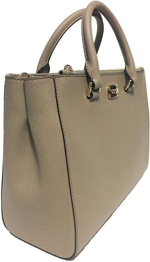 661810 Medium Kellen Leather Satchel Bag 1.jpg