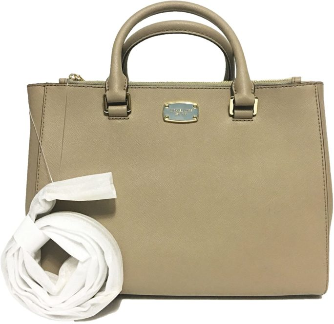 661810 Medium Kellen Leather Satchel Bag.jpg