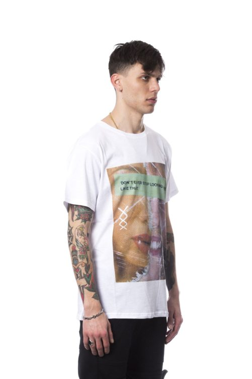 Bianco White T-shirt, Fashion Brands Outlet